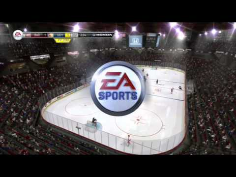 Goalie Interference - Im Done! (NHL 14 Clips)