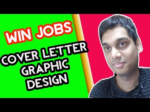 Upwork sample cover letter for graphic design | Win jobs on freelancing site | cover letter sample