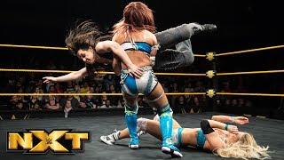 Sane vs. LeRae vs. Cross - NXT Women