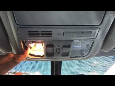 2013-2017 Honda Accord Interior Light Bulbs Replacement DIY (Map lights, Dome Light, & Trunk Light)