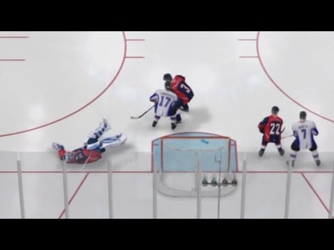 NHL 14 | UPDATE: Refs Are Blind! (Goalie Interference) | TacTixHD