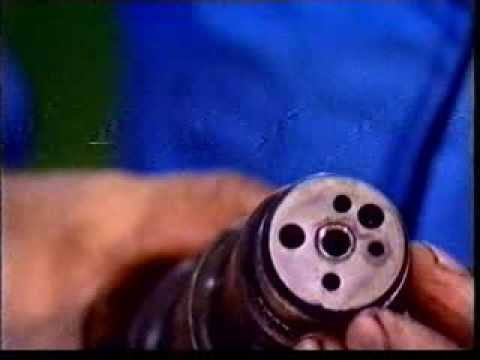 Auxiliary Engine Fuel Injector Overhauling