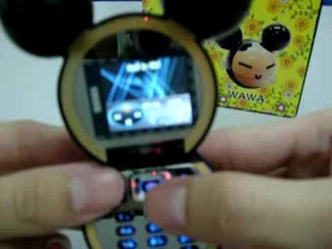 Pucca a.k.a Wawa Cute Latest Mobile Phone