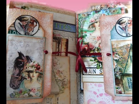 Journal Page - Mixed Media Tutorial - How to do Signature Pages, Journal Pages and Layouts