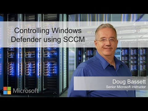 Controlling Windows Defender using SCCM