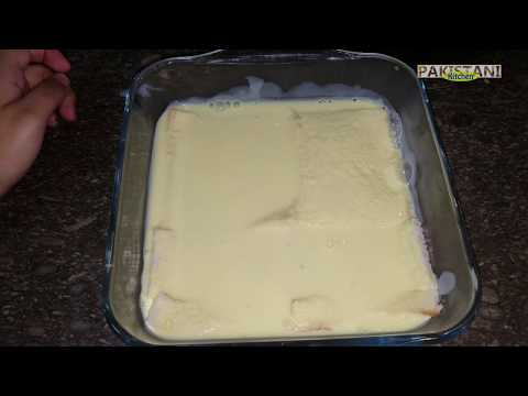 How to make: NO BAKE PINEAPPLE CAKE | Pakistani Kitchen