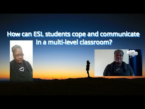 How can ESL students cope and communicate in a multi level classroom?
