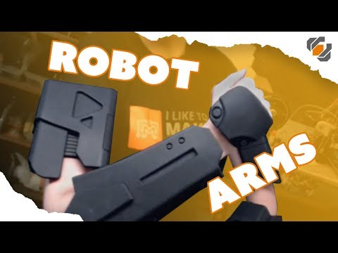Foam Robot Arms! - Destiny Sweeper Bot Build