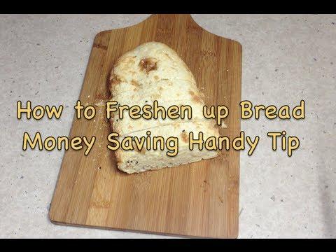 How to Freshen Bread Money Saving Tip cheekyricho