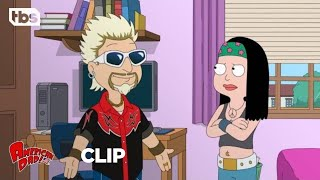 Download American Dad: Jeff Becomes Guy Fieri [CLIP] | TBS Video