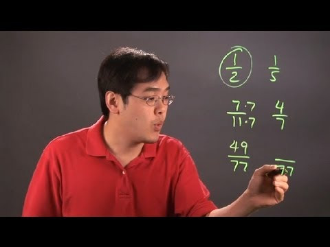 What Are Some Ways to Find Which Fraction Is Larger? : Fractions 101