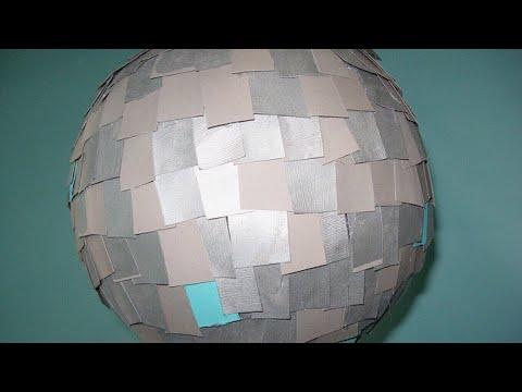DIY Paper Disco Ball Experiment