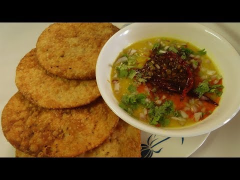 Dal Pakwan Recipe | Sindhi Dal Pakwan | Breakfast Recipe | Street Food | Recipe in Hindi