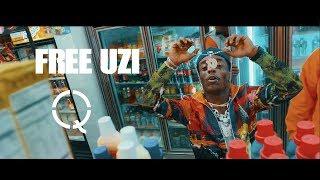FREE UZI  - LILUZIVERT ( Shot By Qasquiat ) [OFFICIAL MUSIC VIDEO]