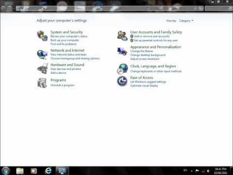 windows 7 time from 24 hours to 12 hours.wmv