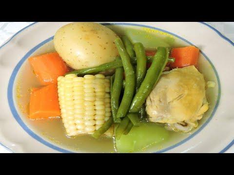 COMO HACER CALDO DE POLLO CON VERDURAS | Cocina Blog