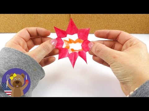 Christmas Stars Cut-Outs | Window or Wall Decoration | DIY Winter Decoration