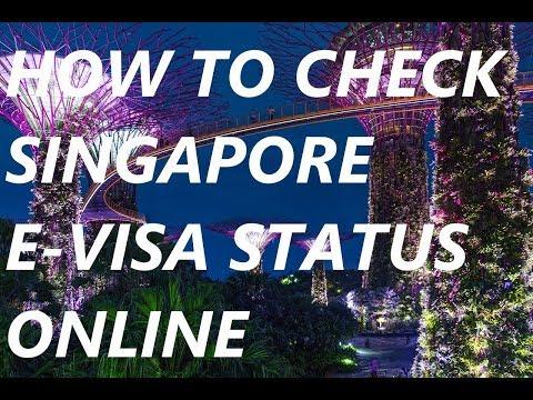 How to Check Singapore Visa Status Online India | Download Singapore Visa Copy