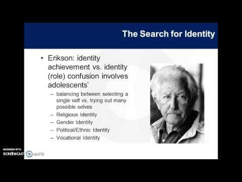 Erikson's Identity vs. Role Confusion/Marcia Identity States