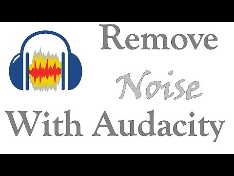 How to Remove Background Noise with Audacity.