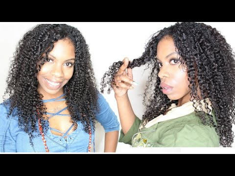 How to Define Curly Weave-Haute Kinky Hair