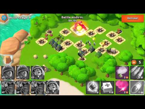 Boom Beach Battles: IUTA vs Dr Terror Stage 9 - Boom Beach