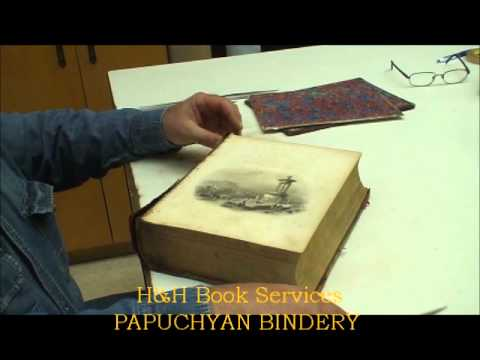 Old Book Restoration Part 1/5