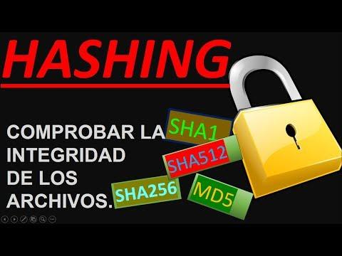 Hashing MD5 - SHA1 - SHA256 -SHA512 | Windows & linux & MAC OSX