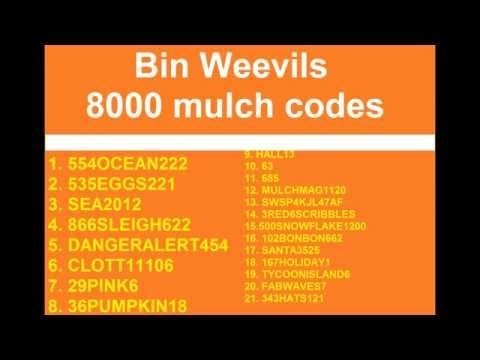 how to get 8000 mulch on binweevils
