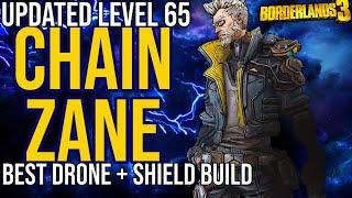 Updated Level 65 Drone/Shield Zane Build! Solo All Content + Gamesave // Chain Zane // Borderlands 3