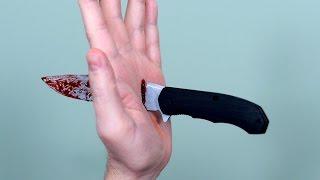 POCKET KNIFE ACCIDENT!