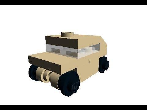 Lego Mini HMMWV Instructions