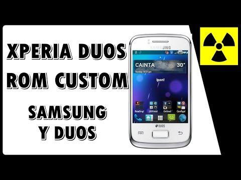 Rom Custom - XPERIA DUOS no Galaxy Y DUOS - (100% FUNCIONAL) + CWM || Como instalar rom customizada