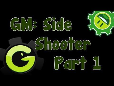 Game Maker Tutorial - Side Shooter Movement