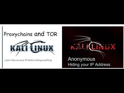 Setup proxy in kali Linux with tor and proxychains