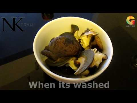 HOW TO MAKE SNAIL WITH STEW