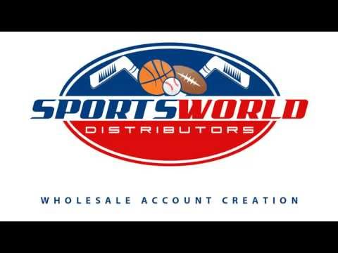 Sportsworld Distributors - How To Create A Wholesale Account