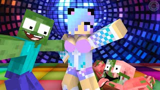 Monster School: Dancing Challenge - Minecraft Animation