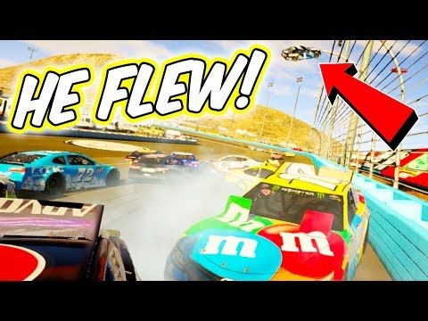 Driving into Oncoming Traffic at ALL 24 Tracks in NASCAR Heat 2 [Including Charlotte Roval]