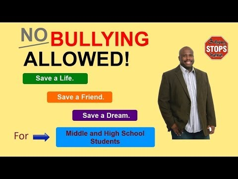 Anti Bullying Speaker For Middle & High School Students Featuring Anti Bullying Expert Ty Howard