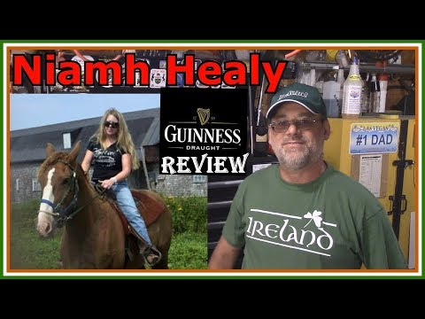 IRELAND - Guinness Draught Stout  Review - Niamh Healy  Youtube Channel Sends A Gift