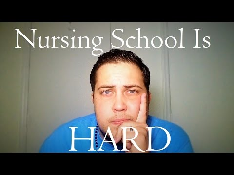 Nursing School is HARD (The Ugly Truth)
