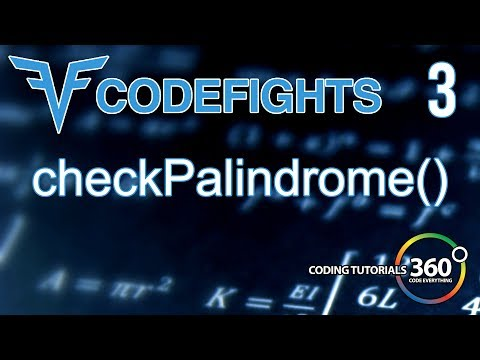CheckPalindrome | CodeFights Intro Algorithm JavaScript Solution and Breakdown