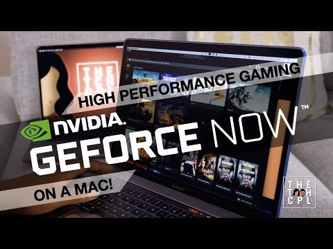 Gaming on a Macbook or iMac? Check out GeForce Now from nVidia!
