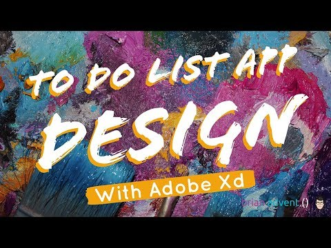 Create an Awesome To-Do List App Design with Adobe XD