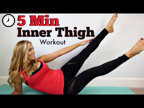5 Minute Inner Thigh Workout