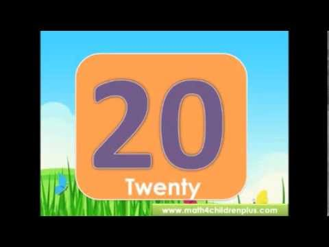Counting from 1 to 20 rap song. Teach children counting with the fun of singing and dancing.