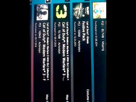 MASSIVE PS3 gameshare video must see