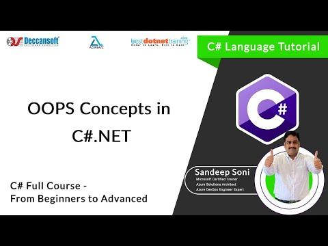 Learn OOP's Concepts in .NET - C# Tutorial
