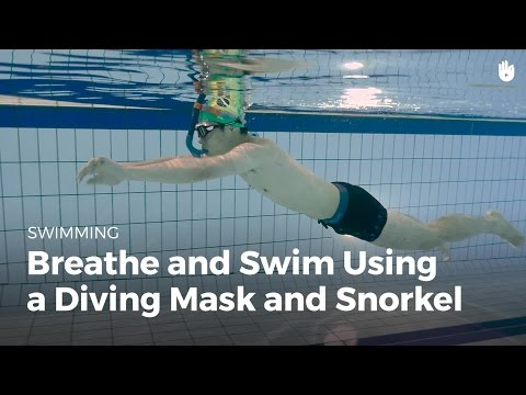How to Use a Snorkel and Diving Mask | Fear of Water